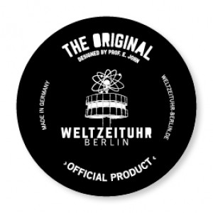 "Magnet Weltzeituhr ""The Original"" logo"