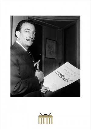 Dalí und Don Quichotte 1957