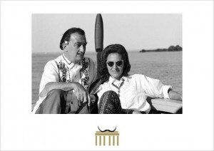 Dalí und Gala in Cadaques