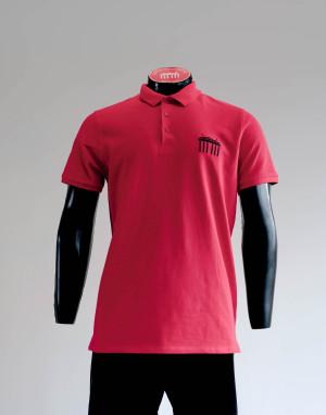 DaliBerlin Poloshirt Herren rot