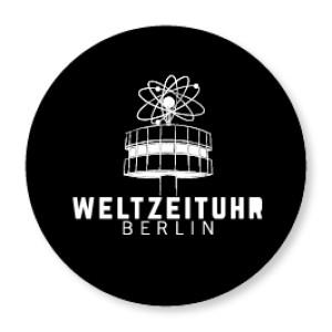Magnet Weltzeituhr Logo
