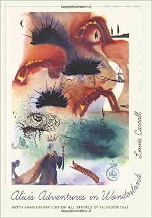 Alice Adventures in Wonderland illustrated by Salvador Dalí