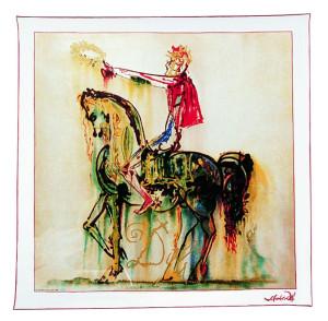 Seidentuch: Der römische Ritter