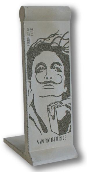 Mauerstück Miniatur Beton Dalí
