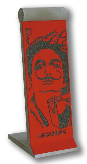 Mauerstück Miniatur Rot Dalí