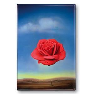 Kühlschrankmagnet: Die Rose