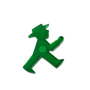 Ampelmann Magnet grün
