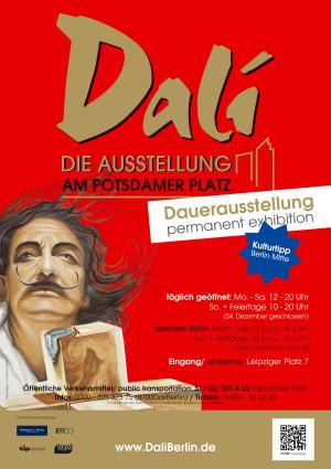 Plakat Dalí Berlin