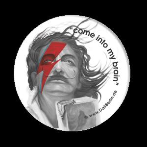 Button Dalí Bowie